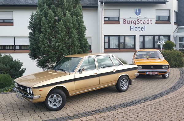Oldies but Goldies: VW K70 und ein 73er Passat